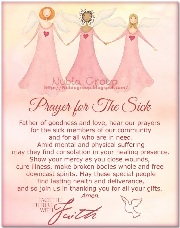 Prayer for the sick Prayers and Blessings