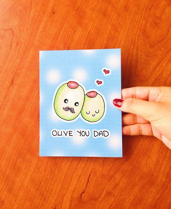 Funny birthday card dad dad birthday card for by LoveNCreativity