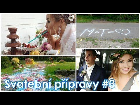Svatební přípravy #3: Svatba Den D, Pocity do obřadu, Focení v přírodě: Les a louka | Markéta Venená - YouTube