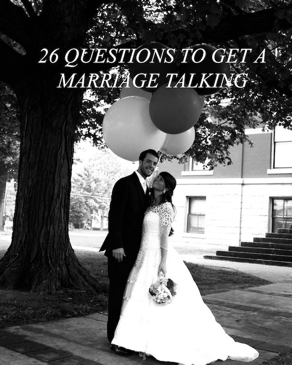 The BEST biblical questions for a marriage I have ever read