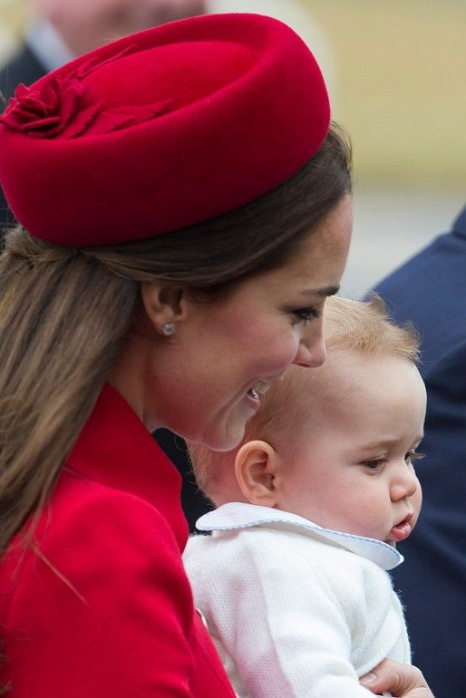 Kate Middleton and baby George :) #Royals