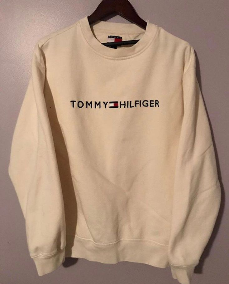 Image of Tommy Hilfiger Crewneck (creme)