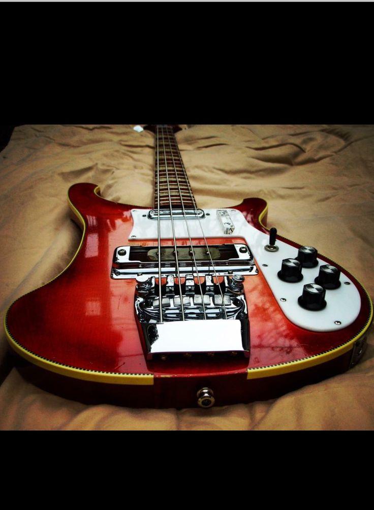1971 Rickenbacker 4001 Fireglo