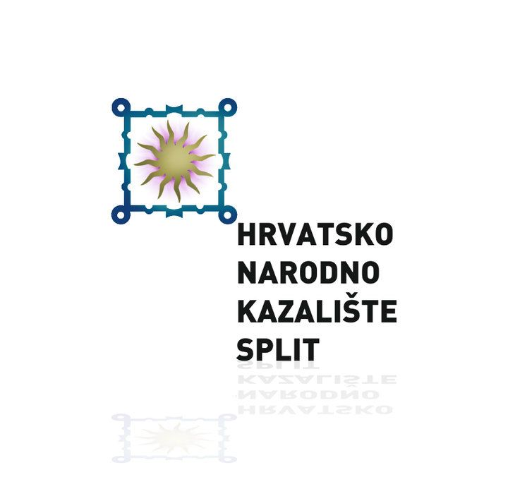 logo for Croatin National Theatre in Split