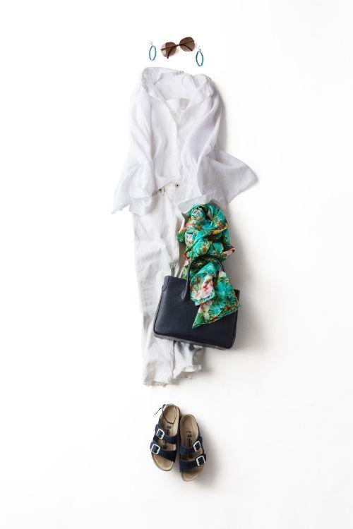 Kyoko Kikuchi's Closet | オールホワイトで心地いい夏