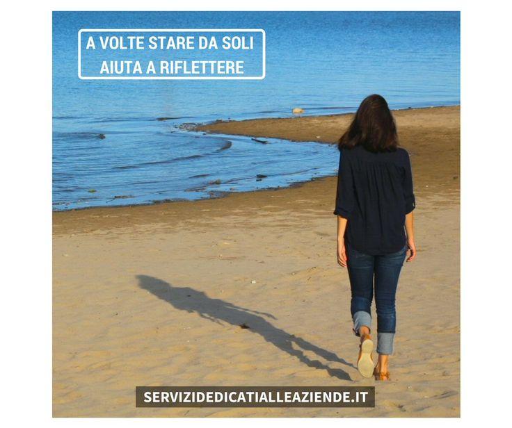 Essere adulti è essere soli. (Jean Rostand) #lasolitudine #rifletteredasoli