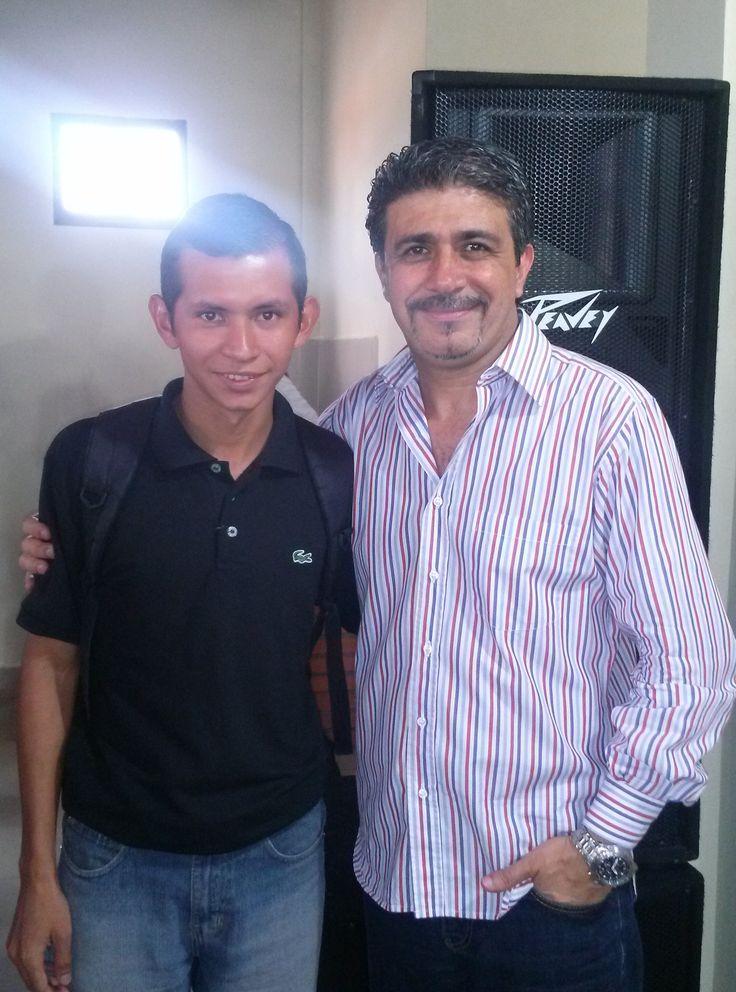 Anibal Gomez y El Apostol Juan Romero