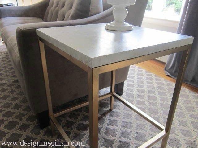 Design Megillah: Marbling A Laminate Table Top