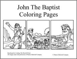 Posts About John The Baptist Written By Crafting Word Of God
