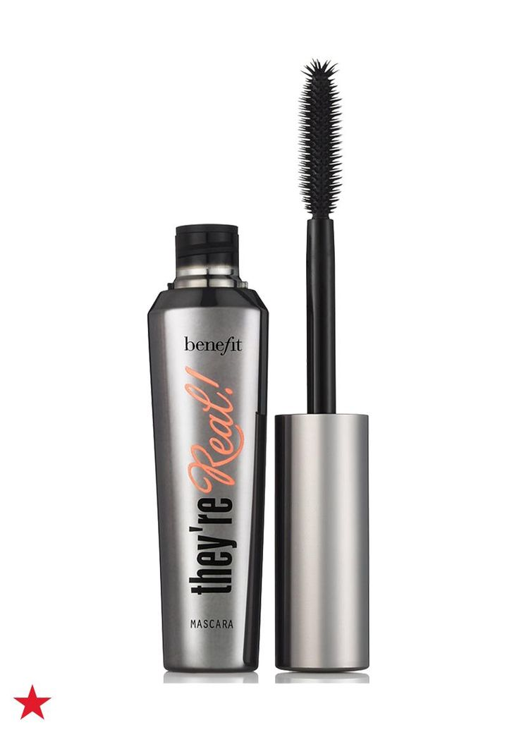 Give your smoky eye the ultimate finishing touch, a swipe or two of Benefit They're Real lengthening mascara. For an even more dramatic effect, fan the corner of your lashes outward with the wand's domed tip. Shop for this amazing mascara in your favorite shade at Macy's.