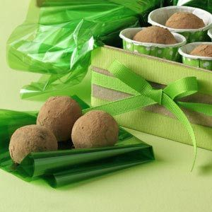 Amaretto Cream Truffles Recipe -The velvety texture of the almond filling with the sensational chocolate coating make these truffles truly heavenly. I like to give them as gifts during the holidays.—Sherry Day, Pinckney, Michigan