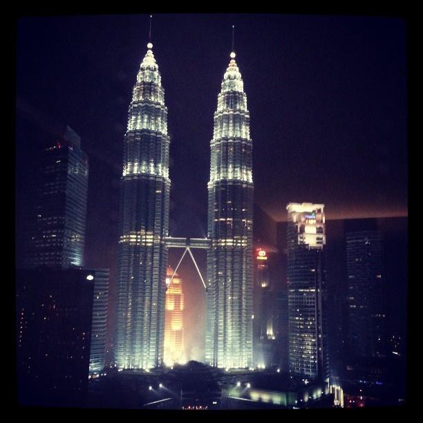 #Petronus towers, #Kuala Lumpur, #Malaysia. From Traders Hotel. #Wayfairer