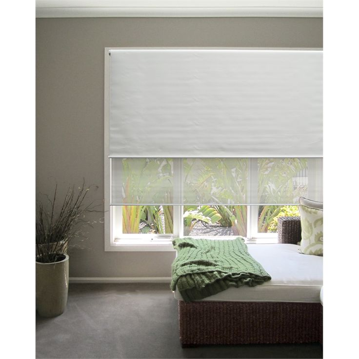 Windoware 90 x 210cm Day Night White Roller Blind I/N 1260801 | Bunnings  Warehouse