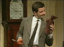 Mr. Bean the TV show- Genius comedy! The movies don't seem to have the same feel!