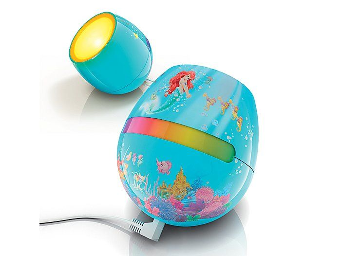 bring a world of colored light into their rooms with the philips disney livingcolors micro ariel - Lampe Living Colors Philips