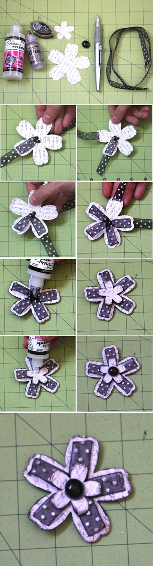 Scrapbook ideas with ribbon - 33 Creative Scrapbook Ideas Every Crafter Should Know