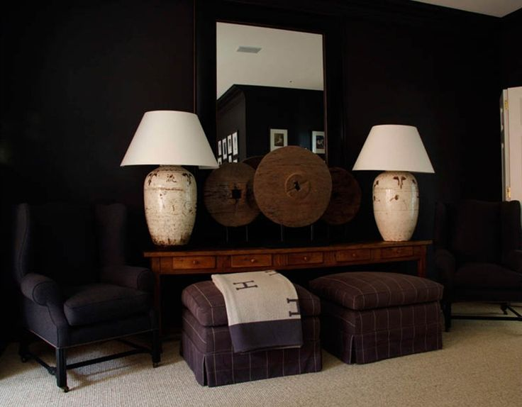 Just Spotted This Pair Of Magnificent Large Table Lamps In A Room Designed By Australian Interior Designer Marco Meneguzzi
