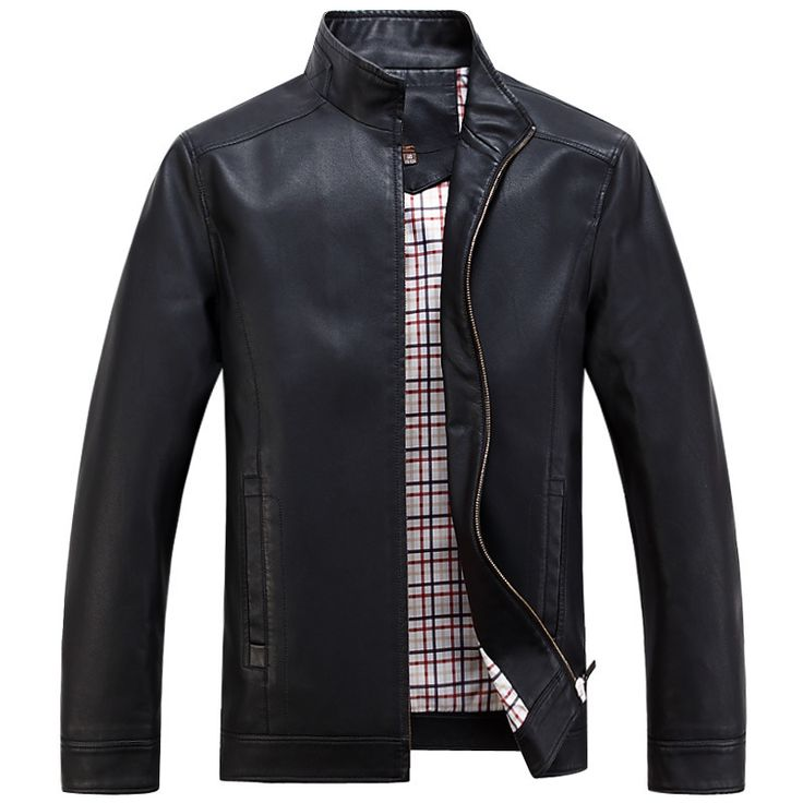 Cheap men short leather jacket, Buy Quality mens ski jacket directly from China jacket men casual Suppliers:                    New Spring Autumn High-grade Quality Leather Jacket Men Casual Stand Collar J