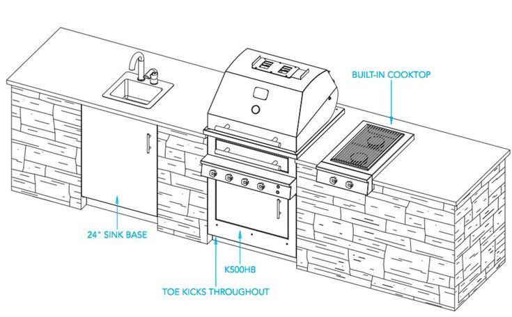 Best 25+ Outdoor Kitchen Plans Ideas On Pinterest