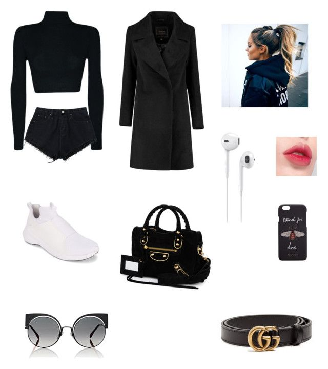 """Untitled #3"" by idaayudevinaputrisuteja ❤ liked on Polyvore featuring Puma, Fendi, Gucci, Balenciaga and Laneige"
