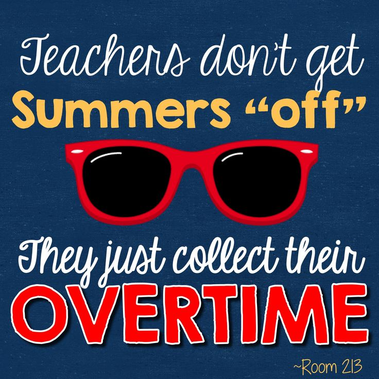 24 best Summer Vacation Teacher Humor images on Pinterest
