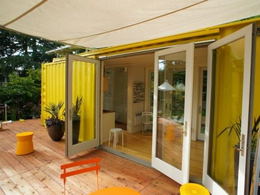 108 best shipping container houses images on pinterest - Ecopod container home ...