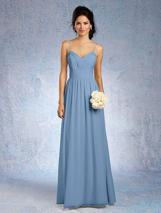 49 Best Images About Dusty Blue Bridesmaid Dresses On