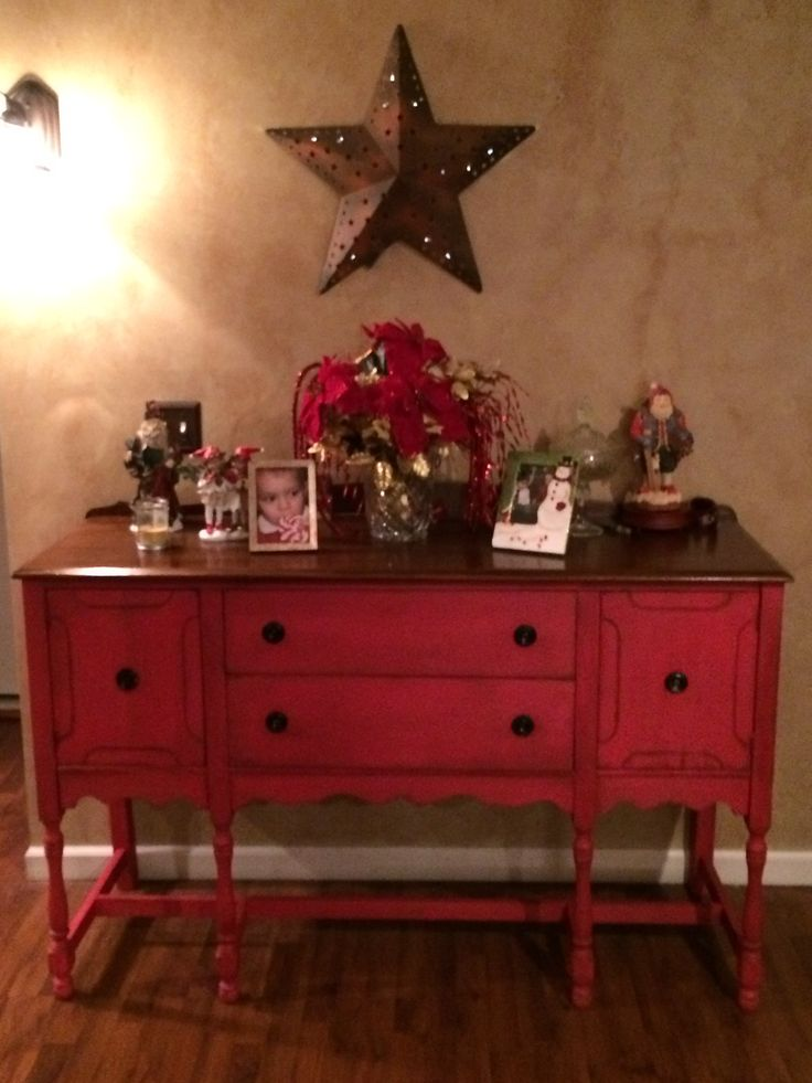 Best 25 Red Chalk Paint Ideas On Pinterest Red