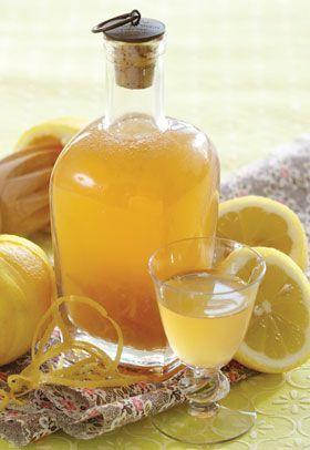 Opskrift på citronlikør
