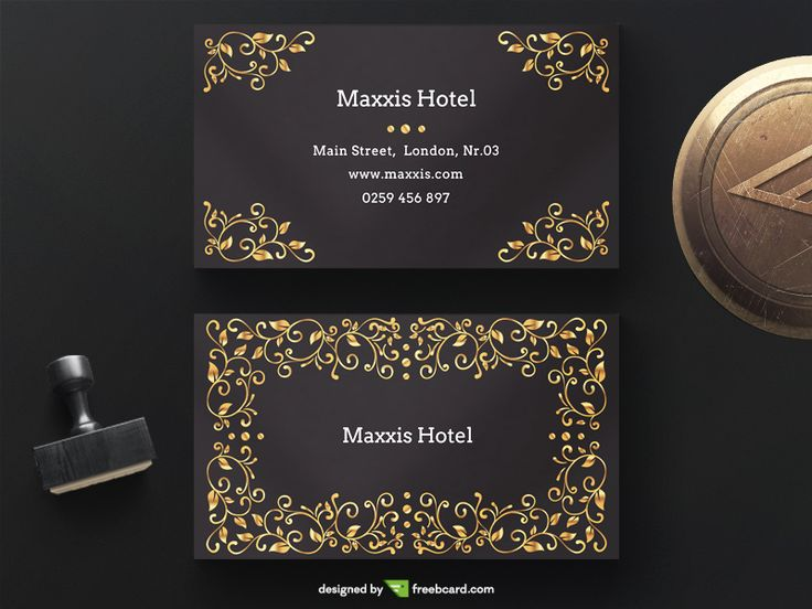 Best Business Card Templates Free Download Images On