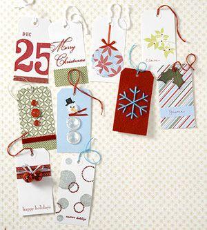 quick gift tagsHoliday Gift Tags, Handmade Christmas Gift, Christmas Holidays, Basic Supplies, Gifttags, Holiday Gifts, Christmas Tags, Christmas Gift Tags, Christmas Gifts
