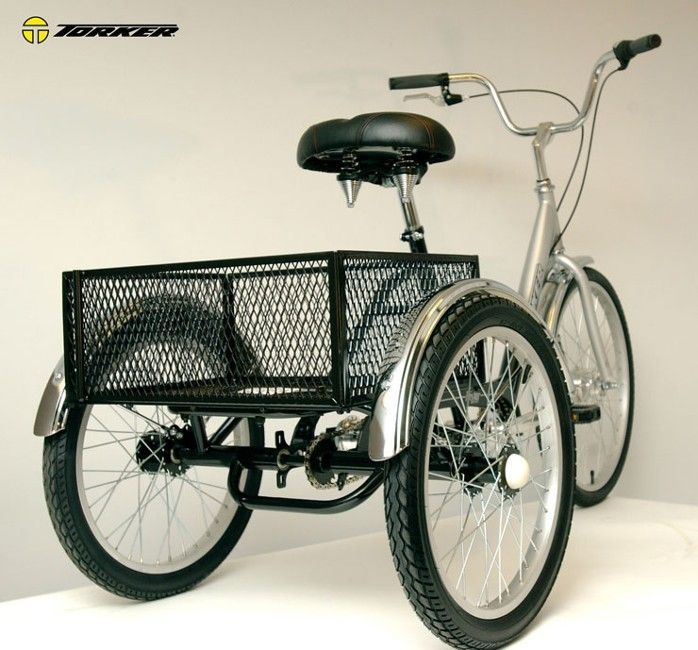 Torker TriStar HD Adult Trike rear view