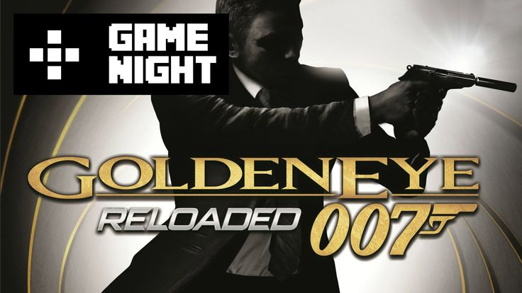 Game Night! This week Olly, Kev and Rich try to enjoy playing some multiplayer on Goldeneye Reloaded. They were hoping to capture some of the fun times they had from it's N64 predecessor back in the day, but are quite shocked to find that it is nothing like the original!