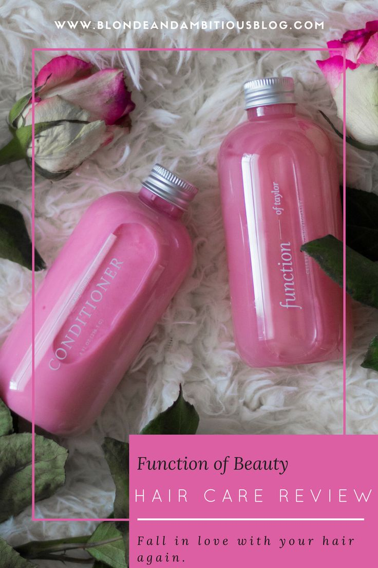 Function of Beauty Shampoo & Conditioner Review Beauty