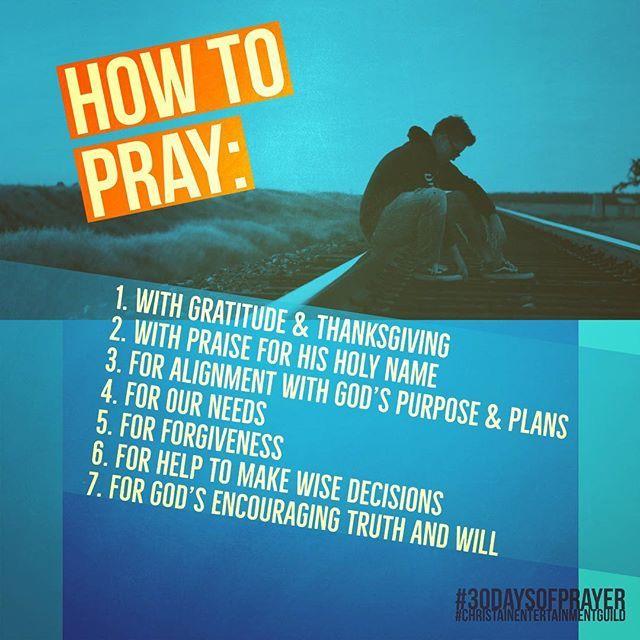 how to talk to god through prayer