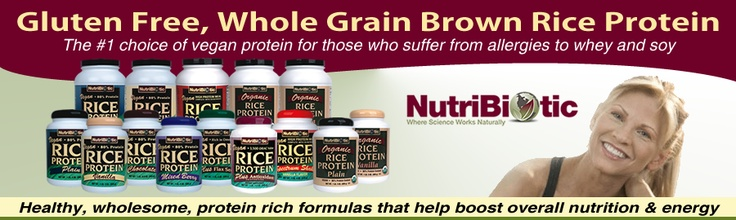 Whole grain brown rice protein powder: gluten free, soy free, dairy free