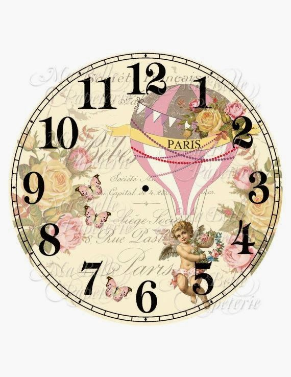 251 Best Free Printable Clock Images On Pinterest Clock