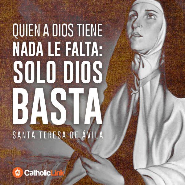 Biblioteca de Catholic-Link - Solo Dios basta Santa Teresa de Ávila