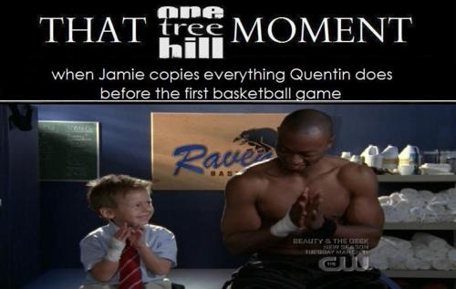James Lucas Scott. Jackson Brundage. One Tree Hill. OTH. Jamie. Quentin Fields. That One Tree Hill Moment.