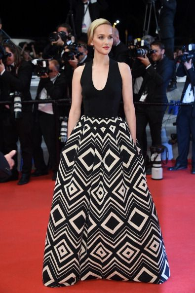 Fabulously Spotted: Jess Weixler Wearing Martin Grant - 'The Disappearance Of Eleanor Rigby' 2014 Cannes Film Festival Premiere - http://www.becauseiamfabulous.com/2014/05/jess-weixler-wearing-martin-grant-the-disappearance-of-eleanor-rigby-2014-cannes-film-festival-premiere/