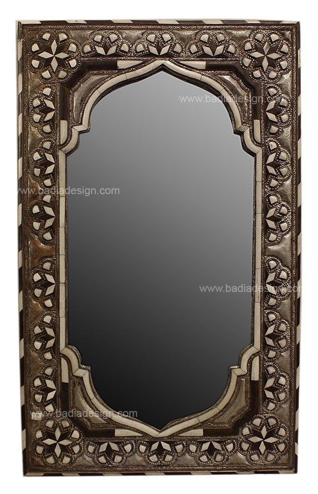 Rectangular Camel Bone-Metal-Horn Mirror M-MB013, (http://www.badiadesign.com/rectangular-camel-bone-metal-horn-mirror-m-mb013/)