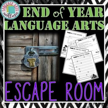 If you are looking for the perfect way to end the school year with a rigorous yet engaging activity your students will be talking about for years to come, look no further than this End of Year ELA Escape Room! There is no wonder why escape rooms are so popular; they are highly engaging and encourage people to work together