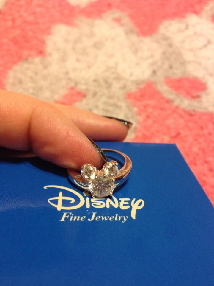 Mickey ring. Love love this