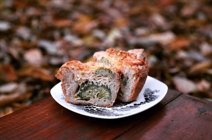 Волованы с брокколи и твёрдым козьим сыром, рецепт