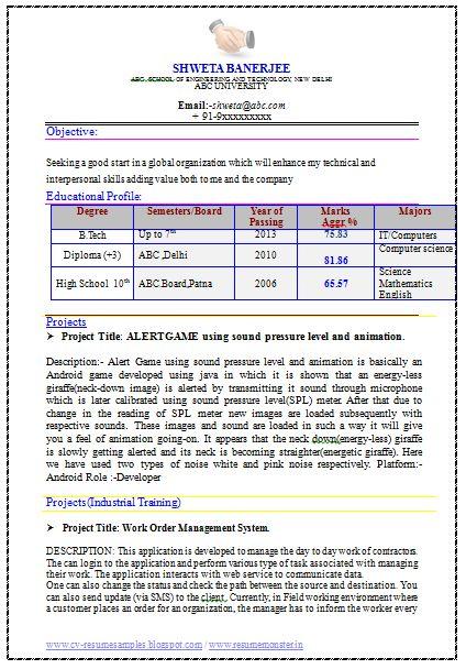 Best Engineer Resume (Page 1)