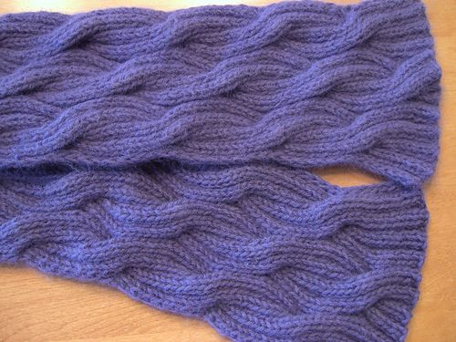 Reversible Knitting Stitches Cables : 17 Best images about Knitting: Reversible on Pinterest Cable, Cowl patterns...