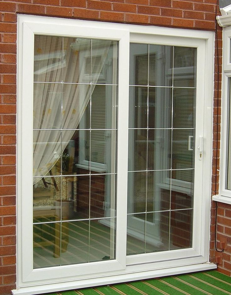 8u0027 Sliding Glass Patio Doors | Like The Metal Grille