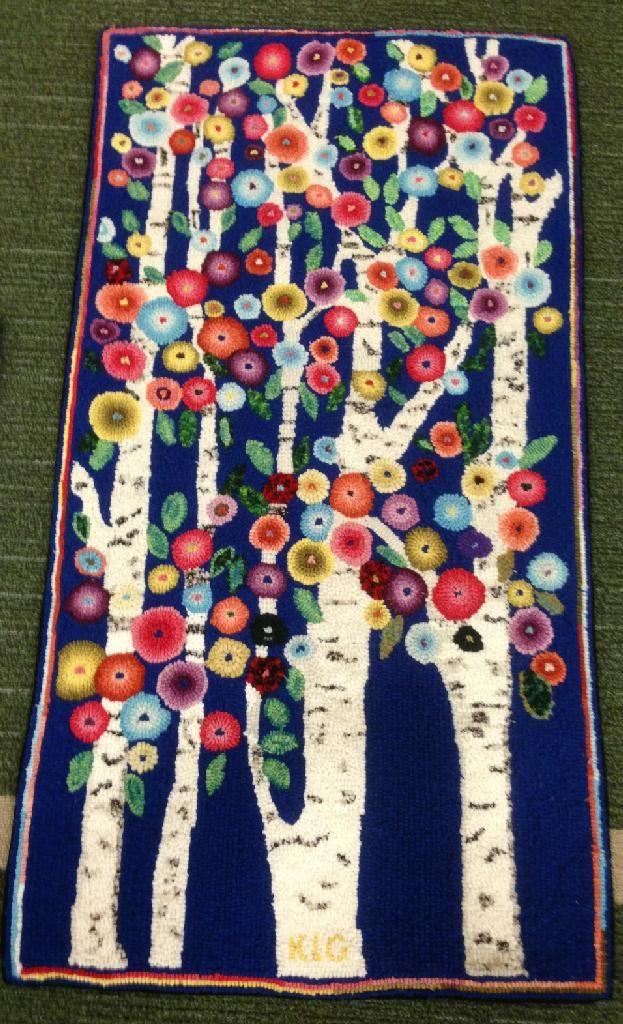 Birch Tree flowers - Karla Gerard design