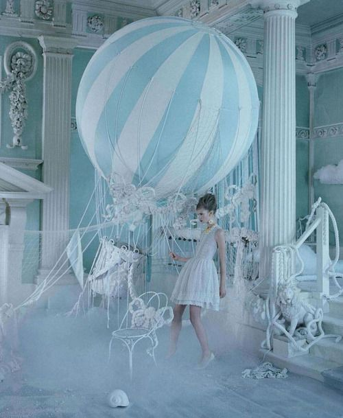 Stina Rapp Wastenson for the Valentino Red Spring/Summer 2013 Campaign photographed by Tim Walker