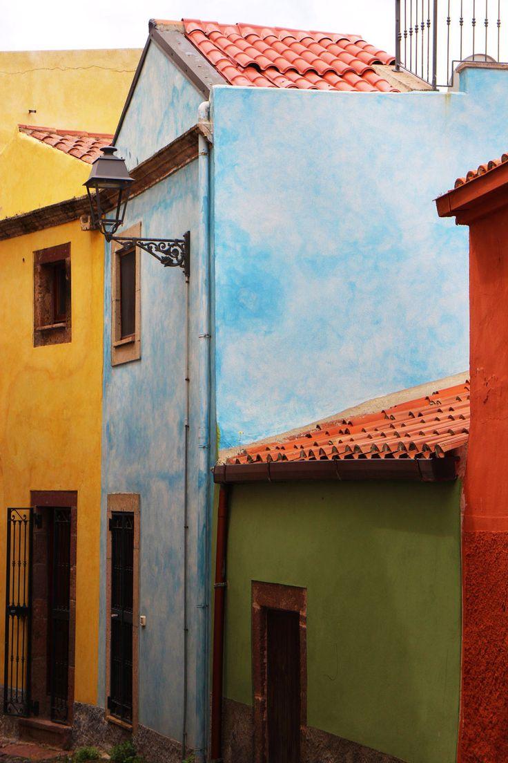 Bosa, Sardinia #bosa #sardegna #sardinia #travel #colours #borghi